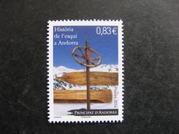 TB Timbre D'Andorre N° 760, Neuf XX. - Nuevos