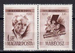Hongrie 1955 Poste Aerienne. Yvert 191 **neuf Sans Charniere. - Neufs