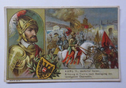 Kaufmannsbilder, Muldenperle, Magarine, Kaiser Karl V.  ♥   - Unclassified