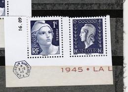 FRANCE YT 4986/4987 TIMBRES EXTRAIT DU BLOC LIBERATION** PEU COMMUN - Unused Stamps