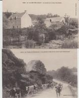 LA VALLEE  TRE-AURAY (56) - 2 Cartes Postales - Bon état - Andere Gemeenten