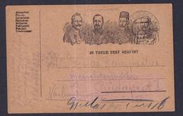 Austria L'Autriche WW1 KUK FIELD FELD POST COVER COURRIER De TERRAIN - Briefe U. Dokumente