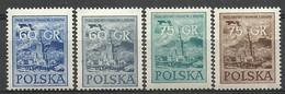 Poland 1955 Mi 930-933 Fi 788-789a,b MNH ( ZE4 PLD930-933 ) - Zonder Classificatie