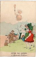 MOUTON G. - After The Victory - Soldats Et Alsaciennes  (5903 ASO) - Andere Illustrators