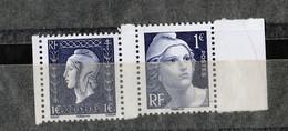 FRANCE YT 4986/4987 TIMBRES EXTRAIT DU BLOC LIBERATION** PEU COMMUN   DROITE - Unused Stamps