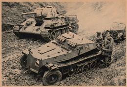 Foto - II - Deutsche Wehrmachts Soldaten Beim Kampf In Den Karpaten - 1944 - War 1939-45