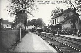 Gare De SAINT-LEGER-SUR-DHEUNE - Altri Comuni