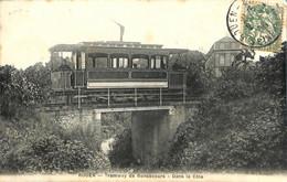 76 - Seine Maritime - Rouen - Tramway De Bonsecours - Dans La Cote   (N3596) - Rouen