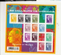 FRANCE FEUILLET MARIANNE DE BEAUJARD 2009 YT N° F4409 ** - Mint/Hinged