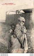 MAROC  CASABLANCA  Type De Femme Du Peuple Arabe  ..... - Casablanca