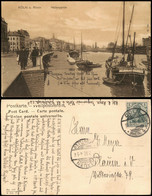 Ansichtskarte Köln Hafen, Segelboote 1906 - Koeln