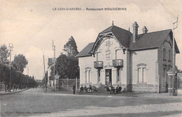 49 -  LE LION D ANGERS - Restaurant HOUDEBINE - Non Classificati