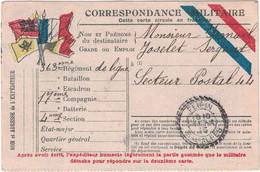 Alpes-de-Haute-Provence - Peipin - Correspondance Militaire En Provenance De Châteauneuf Val St Donat - 11 Avril 1915 - Military Service Stampless