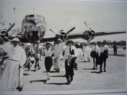 Avion / Airplane / SABENA / Douglas DC-4 / Seen At Stanleyville Airport - 1946-....: Era Moderna