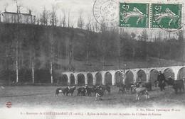 82)   GASQUES   -  Environs De Castelsagrat -  Eglise De Salles Et Vieil Aqueduc Du Chateau Des Carmes ( Chevrier  ) - Other Municipalities