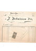 J. Debuisson Fils, Marchand, Tailleur, Chalon Sur Saône 1901 - 1900 – 1949