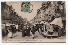 GISORS  - La Grande Rue, Un Jour De Marché - Non Classificati