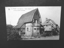 Oude Postkaart In SEPIAKLUER  1918  Villa Beethoven   A . Et ADUMONT Architectes  LA  PANNE - De Panne
