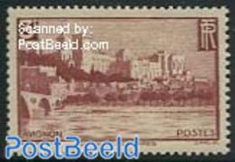 France 1938 3Fr, Stamp Out Of Set, (Unused (hinged)), Art - Castles & Fortifications - Ongebruikt