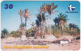 BRASIL P-106 Magnetic Telemar - Landscape, Coast - Used - Brasil