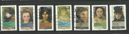 FRANCE  2012  Adhésifs /  LOT  9  - 7  Timbres  Oblitéré - Adhesive Stamps