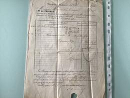 Manufacture De Plombières - Avril 1874 — Vr De PRUINES Pour Troyes - 1800 – 1899