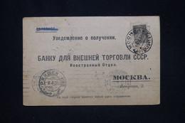 U.R.S.S. - Carte Commerciale De Moscou Pour Moscou En 1926 - L 91275 - Brieven En Documenten