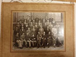 PHOTO-ORIGINALE-  54-  NANCY- LYCEE  HENRI POINCARE  1935-1936   DIM 32X27 CM - Andere