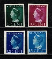 Nederland/Pays Bas 1940 - NVPH 332v/337v** MNH Ongetand/non Dentelé - Unused Stamps
