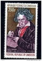 Cameroun  PA N° 168  XX  Bicentenaire De La Naissance De Ludwig Van Beethoven  Sans Charnière TB - Kamerun (1960-...)