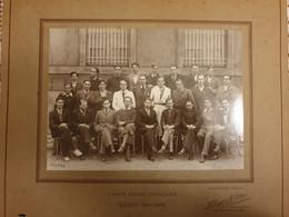 PHOTO-ORIGINALE-  54-  NANCY- LYCEE  HENRI POINCARE  1934-1935   DIM 32X27 CM - Andere
