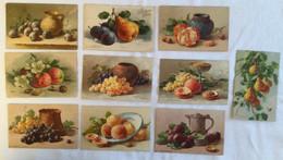 Lot De 10 Cartes - Fruits-Klein 460 Bis - Sin Clasificación