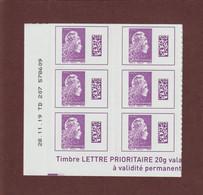 1656 De 2019 - Neuf **- INTERNATIONAL  Adhésif - Coin Daté & Nté - 6 Marianne L' ENGAGEE.- Issu De 50 Timbres.-2 Scannes - 2010-....