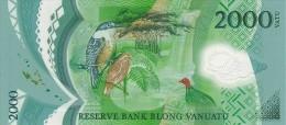 VANUATU P. 14 2000 V 2014 UNC - Vanuatu