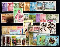 Lesotho 1967-1986 Oblitéré 100% Personnalités, Paysages, Nature, Faune, Sport - Lesotho (1966-...)