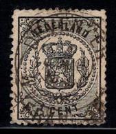Pays-Bas 1869 Mi. 14A Oblitéré 40% 1 C, Armoiries - Usados