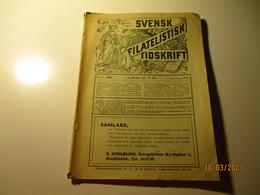 1937 SWEDEN SVENSK FILATELISTIK TIDSKRIFT , M - Scandinavian Languages