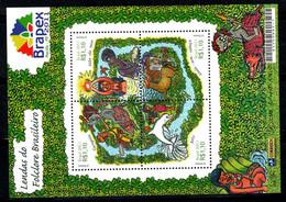 Brésil 2011 Mi. Bl. 154 Neuf ** 100% Neuf ** Mythologie - Nuevos