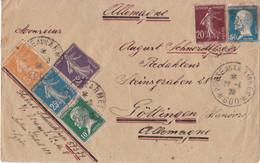 Frankrijk - Posteaux Armees 600 - 19-8-1923 - Brief Van Syrië Naar Göttingen (Duitsland) - 1921-1960: Période Moderne