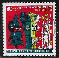 2020  Wohlfahrtsmarke 80 + 40 Cent  (selbstklebend) - Used Stamps