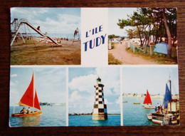 Carte Postale - Ile Tudy - Vues Diverses - Loctudy