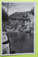 25 / DOUBS - Maiche - La Rasse : Le Pont Et La Douane Suisse -  CPA Carte Postale Ancienne - Vers 1950 - Other Municipalities