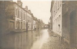 MIONTARGIS       CARTE PHOTO   CRUE DU 20 JANVIER 1910 - Montargis