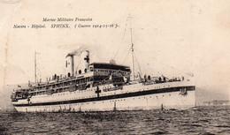 "CP- "" Marine Militaire Française ""-  SPHINX  -  Navire Hôpital - - Krieg"