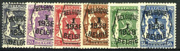 België PRE333/PRE338 ** - 1938 - Klein Staatswapen - Petit Sceau De L'état - Preo Reeks 1 - 6w. - Typografisch 1936-51 (Klein Staatswapen)