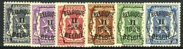 België PRE339/PRE344 ** - 1938 - Klein Staatswapen - Petit Sceau De L'état - Preo Reeks 2 - 6w. - Typografisch 1936-51 (Klein Staatswapen)