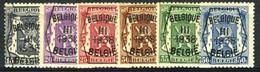 België PRE345/PRE350 ** - 1938 - Klein Staatswapen - Petit Sceau De L'état - Preo Reeks 3 - 6w. - Typografisch 1936-51 (Klein Staatswapen)