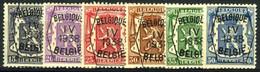 België PRE351/PRE356 ** - 1938 - Klein Staatswapen - Petit Sceau De L'état - Preo Reeks 4 - 6w. - Typografisch 1936-51 (Klein Staatswapen)