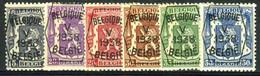 België PRE357/PRE362 ** - 1938 - Klein Staatswapen - Petit Sceau De L'état - Preo Reeks 5 - 6w. - Typografisch 1936-51 (Klein Staatswapen)