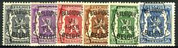 België PRE363/PRE368 ** - 1938 - Klein Staatswapen - Petit Sceau De L'état - Preo Reeks 6 - 6w. - Typografisch 1936-51 (Klein Staatswapen)
